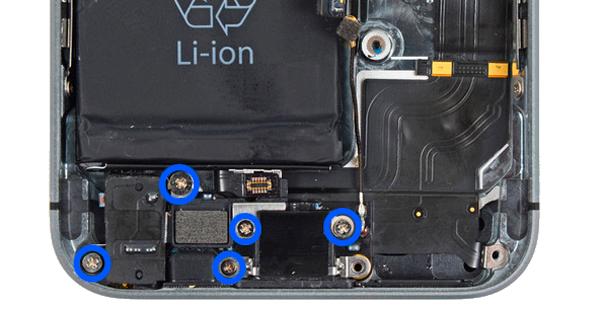 ремонт шлейфа на айфоне 5